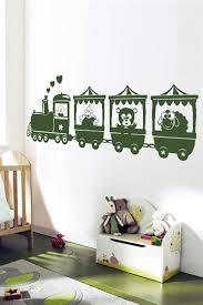 Nursery <b>Wall Decals</b>-<b>Animal Train</b>- WALLTAT.com Art Without ...