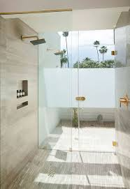 spa bathroom showers: a shower at lhorizon resort and spa in palm springs california by steve