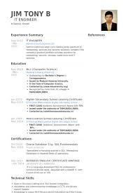 it engineer resume samples   visualcv resume samples databaseit engineer resume samples