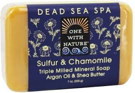 One With Nature Sulfur & Chamomile <b>Triple Milled Mineral Soap</b> ...