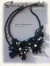 """<b>Necklace</b> """"Jubilee."""" - schemas and directions, but must translate ..."""