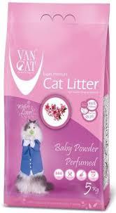 <b>Van Cat</b> Cumpling Litter <b>Baby Powder</b> Perfumed