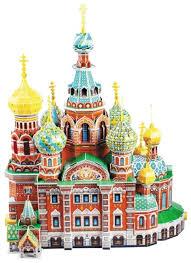 3D-пазл <b>CubicFun Собор Воскресения</b> Хр... — купить по ...