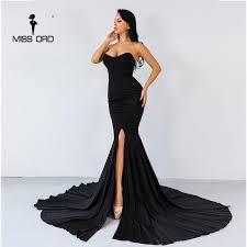 <b>Missord 2020 Sexy</b> wrapped chest asymmetric maxi dress party ...