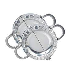 Berryhot Set of Dumpling Mold, <b>Stainless Steel</b> Dough <b>Rolling Cutter</b> ...