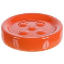 <b>Мыльница</b> настольная «Legend» керамика цвет <b>оранжевый</b> в ...
