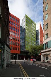 central st giles london england uk stock image brightly colored offices central st