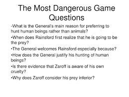 the most dangerous game essaythe most dangerous game essay on general zaroff   essay topics the most dangerous game rainsford