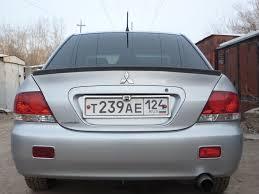 <b>Спойлер на кромку</b> крышки <b>багажника</b> (лип <b>спойлер</b>) — Mitsubishi ...