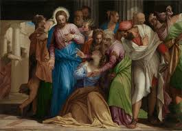 Image result for jesus mary magdalene painting