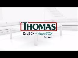 <b>Thomas DryBOX</b>+<b>AquaBOX</b> Parkett - YouTube