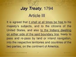 「jay's treaty of 1794」の画像検索結果
