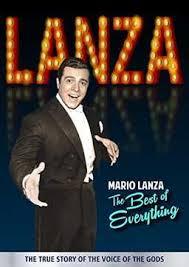 New Lanza documentary: <b>Mario Lanza</b>: The <b>Best</b> of Everything