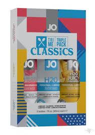 <b>Подарочный набор лубрикантов Tri-Me</b> Triple Pack - Classics за ...