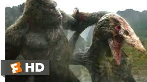 Kong: <b>Skull</b> Island (2017) - Kong vs. Skullcrawler Scene (9/10 ...