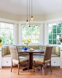 breakfast nook lighting dining room traditional with art banquette bay window breakfast nook lighting