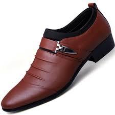 <b>British Fashion Men's</b> Business Suits <b>Men</b> Dress <b>Shoes</b> Slip on <b>Men</b> ...