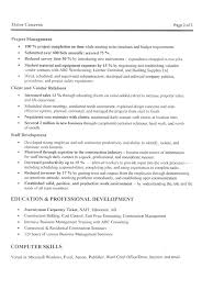construction manager resume example   samplemanagement construction manager resume example