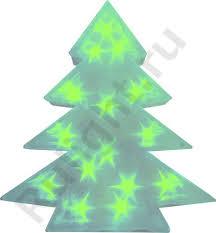 <b>Светодиодная фигура на батарейках</b> Ёлка ,зелёная , LT028 26798