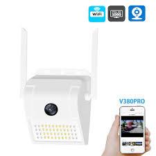Wireless <b>WiFi IP Camera 2MP</b> Wall Lamp Security Camera Outdoor ...