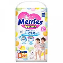 <b>Подгузники</b> Merries <b>М</b> (6-11 кг) ТМ Merries (Меррис)