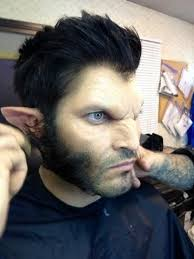 an amazing job on the make up very realistic
