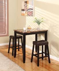 three piece dining set:  pc artificial marble top pub set  click to know more http