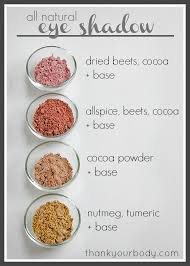 homemade eye shadow all natural and easy to make click here for four great awesome diy makeup