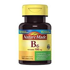 Nature Made Vitamin B-6 (Pyridoxine) 100 mg Tablets ... - Amazon.com