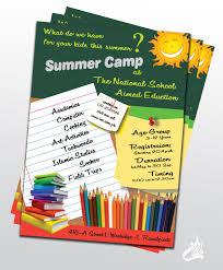 irfan haider personal portfolio summer camp flyer design wednesday 10 2013