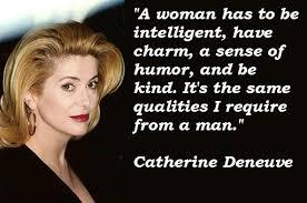 Amazing nine celebrated quotes by catherine deneuve picture French via Relatably.com