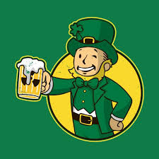 T-Shirts, <b>Irish Vault Boy</b> | <b>Fallout</b>, Grafik, Poster