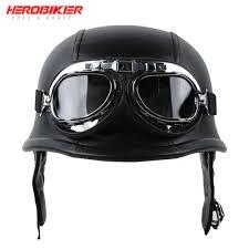 HEROBIKER <b>Retro Motorcycle Glasses</b> Men Motocross Motorbike ...