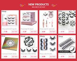 <b>Shozy</b> Magnetic eyelashes with 3 magnets <b>handmade</b> 3D magnetic ...