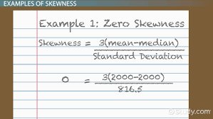 what is the median definition explanation video lesson skewness in statistics definition formula example