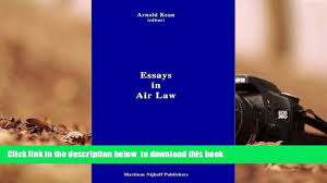 pdf essays in air law trial ebook video dailymotion 00 18