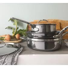 Набор из сковороды 28 см и 2 <b>сотейников 1</b>,<b>9</b> и 3,8 л от Hestan ...
