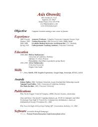 objective resume internship computer science cipanewsletter college student cover lettersample resume for ms in cs s
