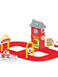 <b>Игровой набор</b> пожарная станция с круговой дорогой <b>DOLU</b> ...