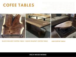 wood roca dining table