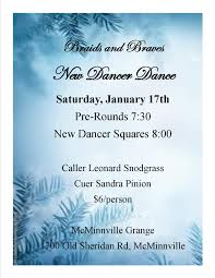 oregon federation news 2015 17 3rd sat new dancer dance 7 00 10 00 pm mcminnville grange mcminnville caller leonard snodgrass cuer sandra pinion view flyer