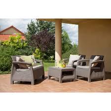 Набор садовой <b>мебели</b> Corfu set полиротанг капучино: стол ...