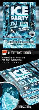 1000 images about design flyer psd flyer templates ice party flyer template