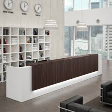 Offers Modern Contemporary And Custom Reception Desks Receptionist Desks Furniture For Offices As Well Contemporary