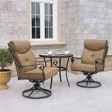 crossman piece outdoor bistro: get quotations middot better homes and gardens mika ridge  piece outdoor bistro set seats