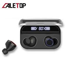 Caletop <b>X11</b> TWS Bluetooth 5.0 <b>Headset</b> Wireless <b>Touch</b> Control ...