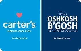 Carter's / OshKosh B'gosh eGift Card   GiftCardMall.com