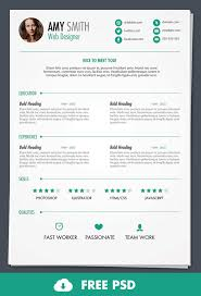 free psd print ready resume template design bump free psd print ready resume resume it template