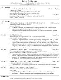 Resume Jobstreet Sample  jobstreet resume template sample format
