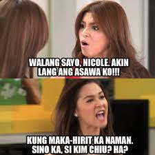 Meme Time With The Legal Wife's Angel Locsin And Maja Salvador ... via Relatably.com